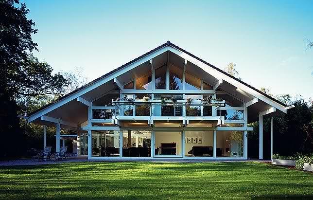 фото домов в немецком стиле